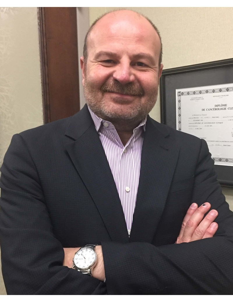 Ahmad Samer Al-Homsi, MD, MBA, will lead the new bone marrow transplantation initiative at NYU Langone's Perlmutter Cancer Center.