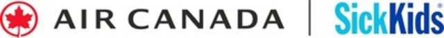 Logo: Air Canada & Hôpital SickKids (Groupe CNW/Fondation Air Canada)