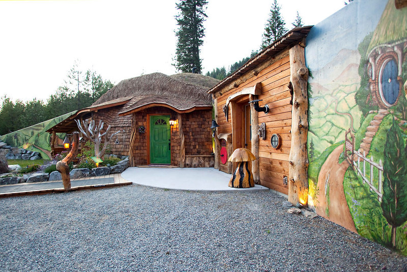 Live in a real Hobbit House