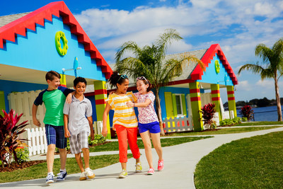 LEGOLAND Beach Retreat features 83 bungalows designed to resemble larger-than-life LEGO sets. The 83 brightly colored units offer 166 separate rooms that sleep up to five, including a cozy area just for kids. LEGOLAND Beach Retreat represents the latest milestone in the largest period of growth and expansion in the five-year history of LEGOLAND Florida Resort, with theming and architecture unique among the eight LEGOLAND resorts worldwide.