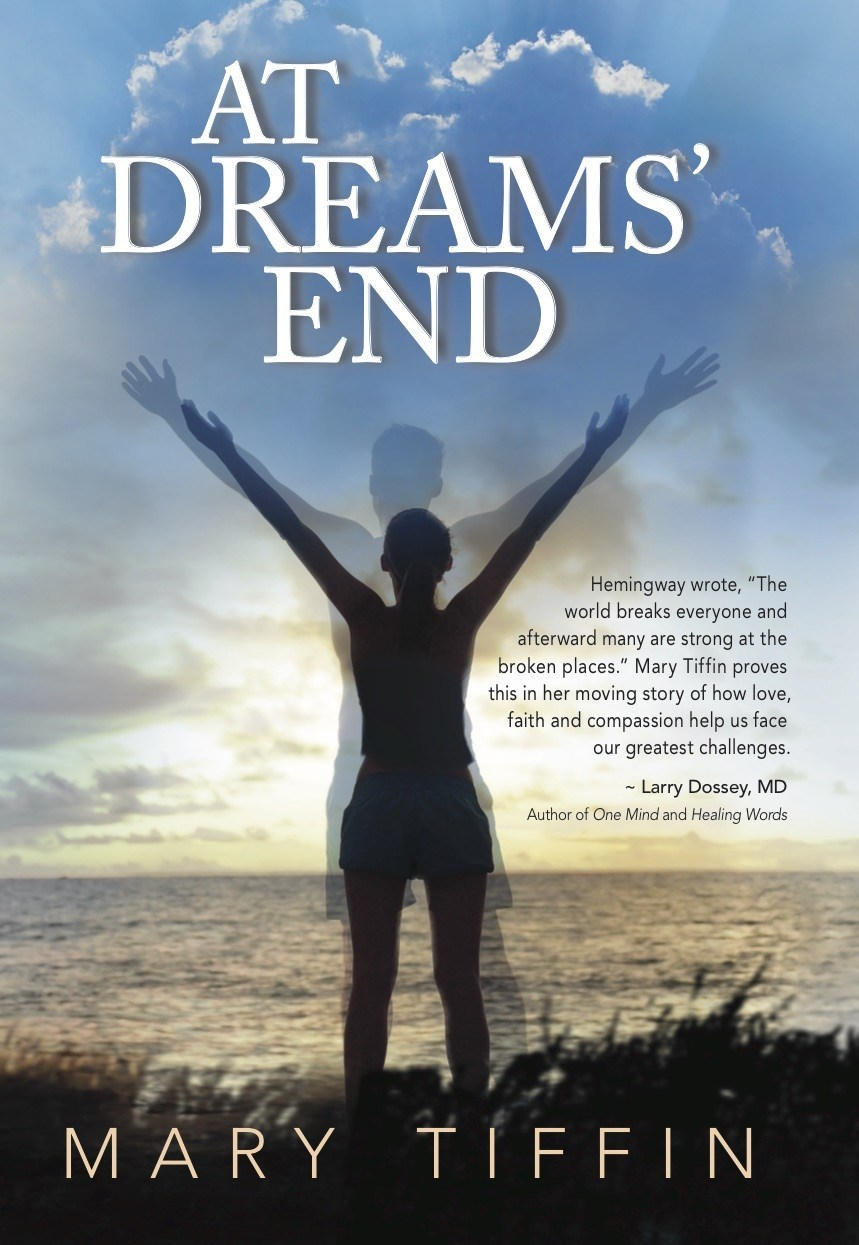 After 14 years, Mary Tiffin, Founder and President of RunLites, shares the true meaning behind the gloves that bring light into night with new book, At Dreams' End - a true story about her husband David's battle with cancer and takes readers on a journey of belief, love and hope that illustrates both the power of community and the power of prayer.