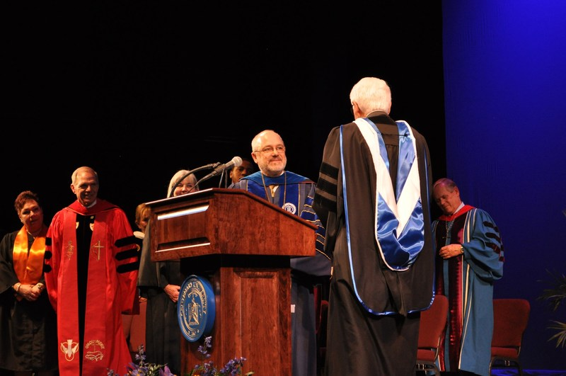Dr. David P. Haney Is Inaugurated as 13th President of Centenary University