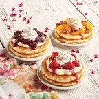 Spring Flavors Burst In Every Bite Of The New, Limited Time Juicy Fruit And Sweet Cream Topped Buttermilk Pancakes At IHOP® Restaurants
