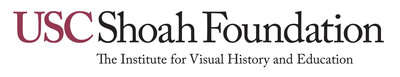 USC Shoah Foundation logo. (PRNewsFoto/USC Shoah Foundation Institute)