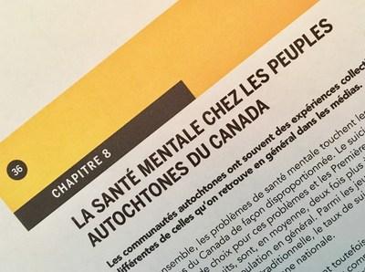 Un nouveau chapitre sur la santé mentale des populations autochtones a été ajouté à la deuxième édition du guide En-Tête. (Groupe CNW/Canadian Journalism Forum on Violence and Trauma)
