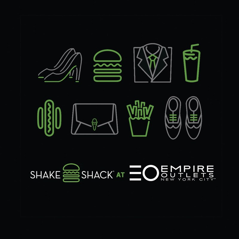 Shake Shack will open its first Staten Island location at Empire Outlets -- New York City's first and only premium retail outlet center.