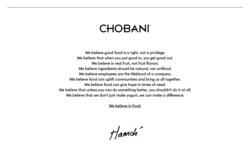 (PRNewsfoto/Chobani)
