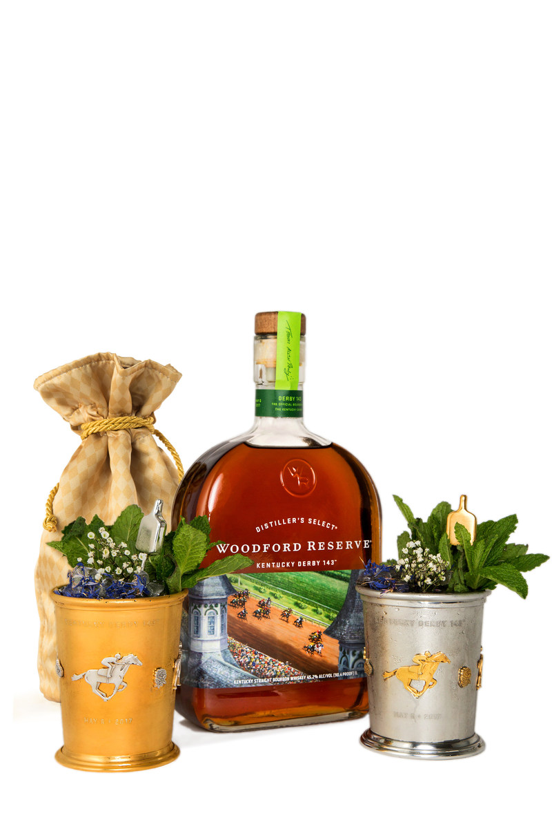 The 2017 Woodford Reserve $1,000 Mint Julep Cup.