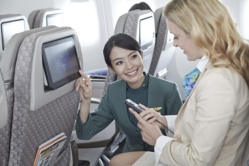 EVA is honored to be recognized by TripAdvisor in its inaugural Travelers' Choice awards for airlines in two categories, Top 10 Major Airline in Asia Pacific and Best Airline-Taiwan.