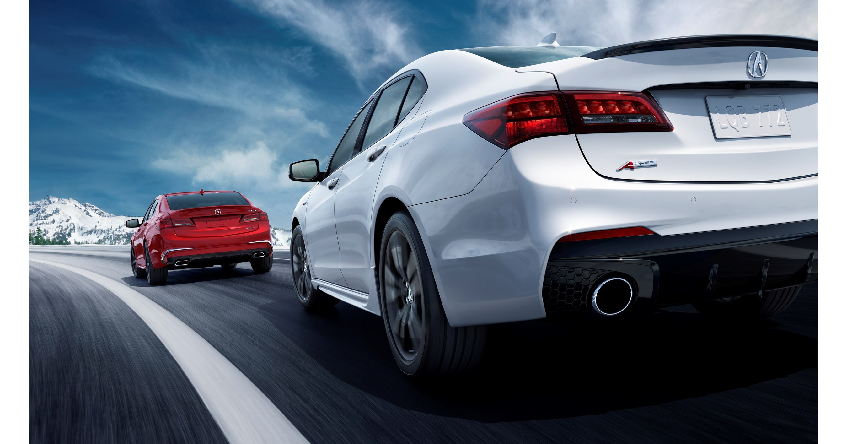 2018 acura tlx makes world debut with aggressive sporty design and new technology features