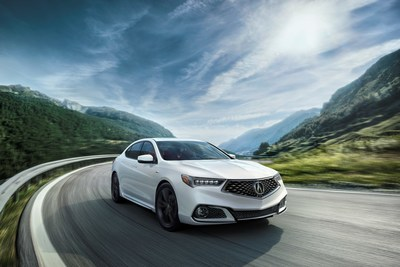 Acura TLX revealed - new sporty A-Spec trim