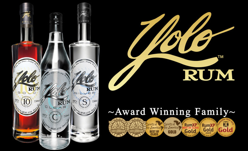 Yolo Rum - You Only Live Once... Be extraordinary, drink extraordinary rum! (PRNewsfoto/Yolo Rum)
