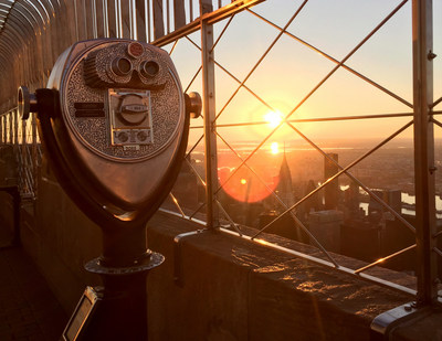 Celebrate Easter Weekends With Spectacular Sunrise At The Empire State Building