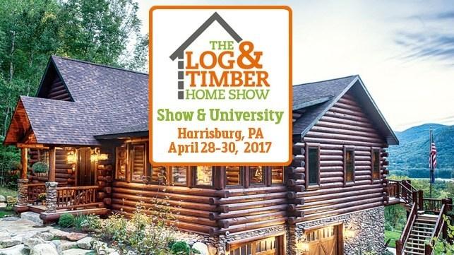 Harrisburg, PA Log & Timber Home Show Logo