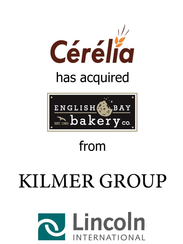 Lincoln International represents Cerelia SA, an investment of IK Investment Partners, in the acquisition of English Bay Batter Co. from Kilmer Van Nostrand Co.