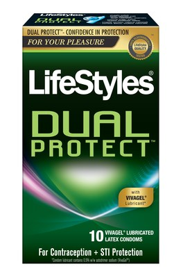 LifeStyles® anti-viral condom Dual Protect™ with VivaGel® lubricant launches on Amazon.ca