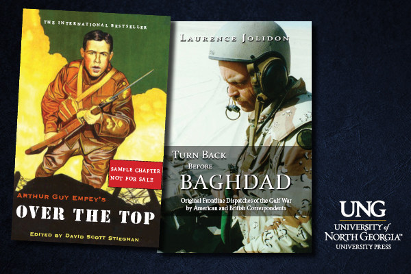 The UNG Press releases two war and military titles on April 6 and 18.