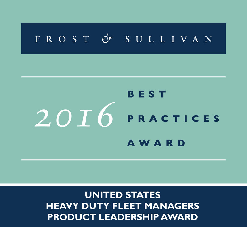 Freightliner Trucks Receives 2016 United States Heavy Duty Fleet Managers Product Leadership Award