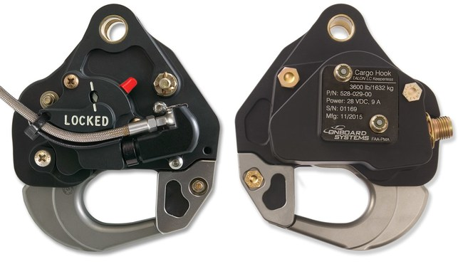 TALON® LC Hydraulic Hook (left) and Keeperless Hook (right)