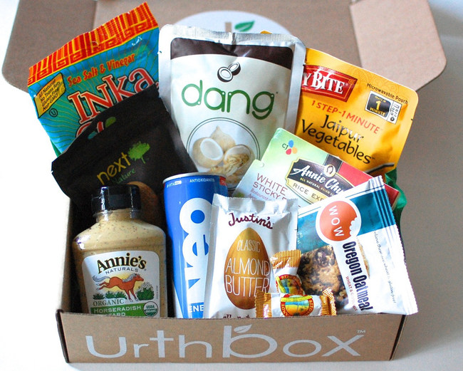 """Urthbox Gives Away 5,000 Free Snack Boxes in April 2017 for Its """"UrthDay"""" Celebration in Observance of Earth Day"""