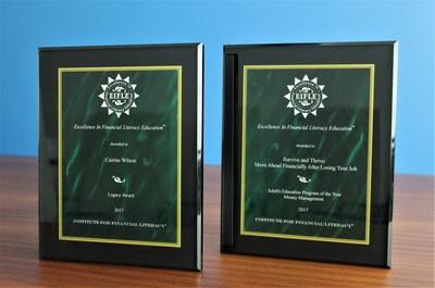 Comptables professionnels agréés du Canada remporte deux prestigieux prix EIFLE (Excellence In Financial Literacy Education Awards). (Groupe CNW/CPA Canada)