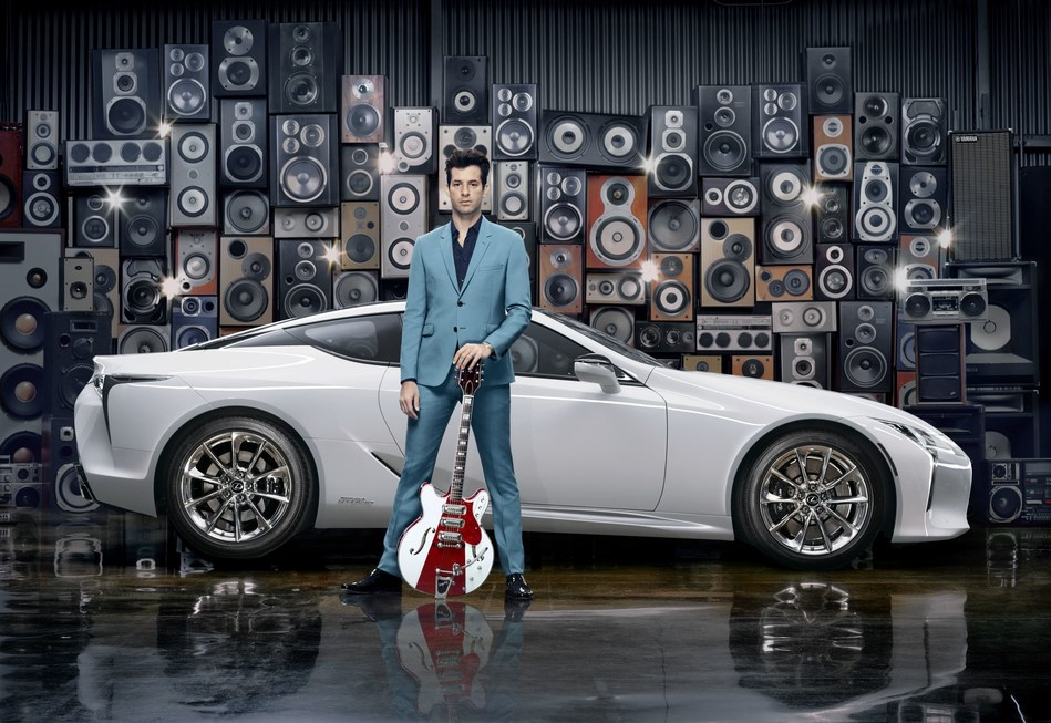 APRIL 11, 2017: Global music producer Mark Ronson collaborates with Lexus for 'Make Your Mark' campaign to celebrate the launch of the new Lexus LC (Photo by @gavinbondphotography for Lexus) (PRNewsfoto/Lexus)