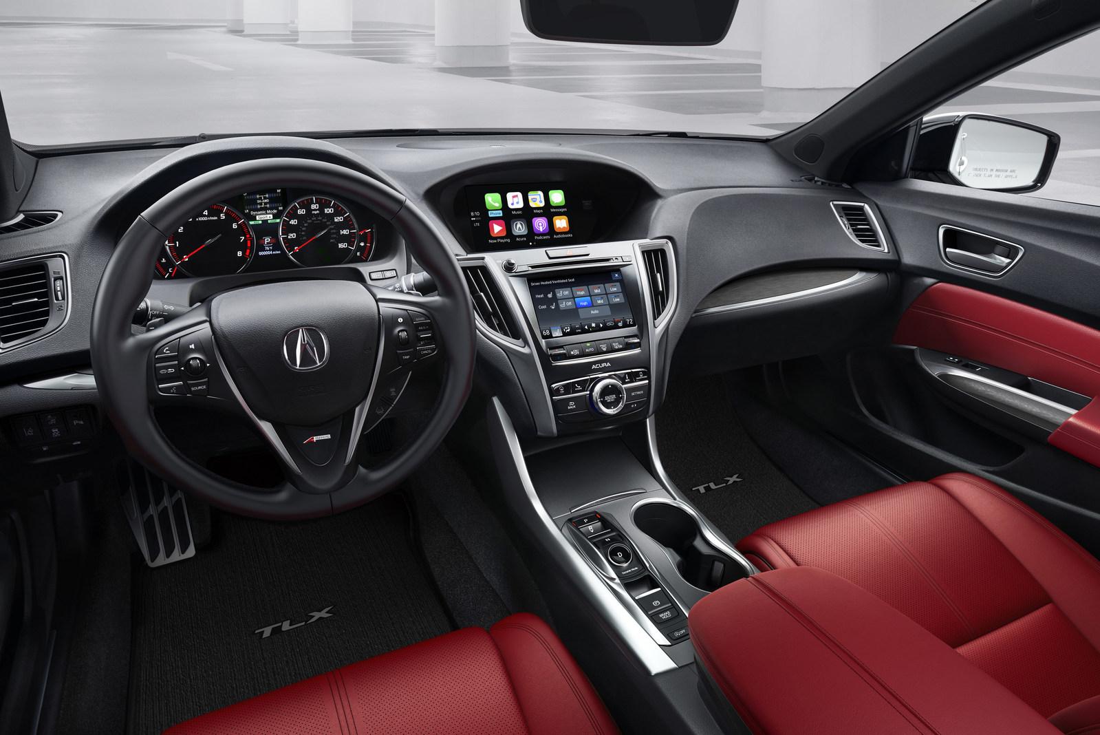 Acura TLX 2018 hace su presentación mundial con poderoso ...