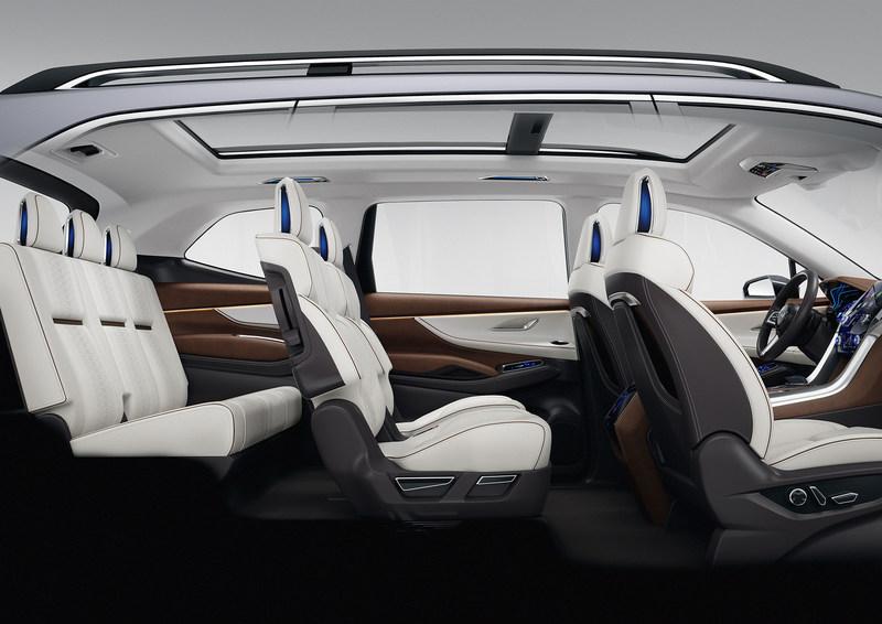 Subaru Ascent SUV Concept Interior