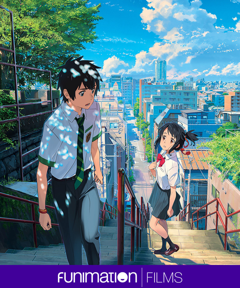 "Key art from Makoto Shinkai's ""Your Name."" Courtesy Funimation Films / Toho Co. Ltd."