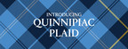 Quinnipiac University unveils 'Quinnipiac Plaid,' a new tartan design denoting the university's strong sense of community, pride and national prominence