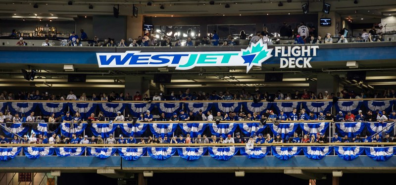 WestJet will again be treating Blue Jays fans to amazing experiences in the WestJet Flight Deck at Rogers Centre (CNW Group/WestJet)