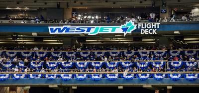 WestJet offrira une fois encore aux partisans des Blue Jays l'occasion de vivre des expériences extraordinaires dans le WestJet Flight Deck du Rogers Centre (Groupe CNW/WestJet)