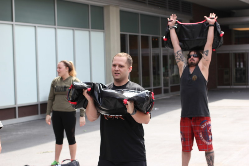 Wounded Warrior Project gathered some warriors together for a physical health and wellness event in Pittsburgh.