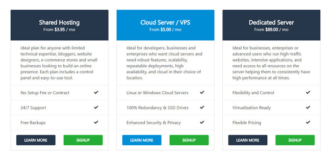 Canadian Web Hosting offers Shared Web Hosting, VPS, and Dedicated Server products including our 60-day money back guarantee with every plan.