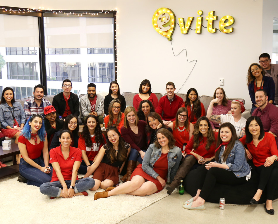 Evite® Announces Women Make Up Over Half of Executive Team