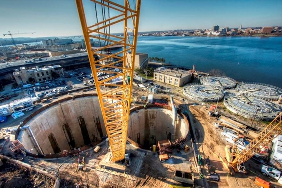 ENR selected the CH2M-designed Blue Plains Tunnel as the 2016 Overall National Best of the Best Project. The tunnel is part of DC Water's $2.6 billion DC Clean Rivers Project which will reduce stormwater overflows and CSOs throughout the system by 96 percent annually and by 98 percent for the Anacostia River alone. (Photo credit Traylor Bros., Inc.)