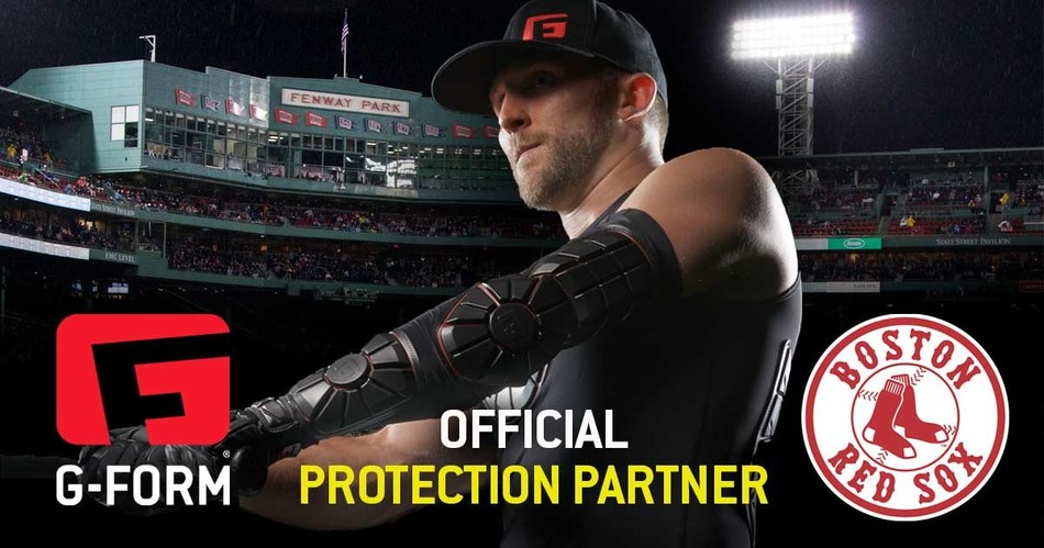 G-Form is now the Official Protection Partner of the Boston Red Sox (PRNewsfoto/G-Form)