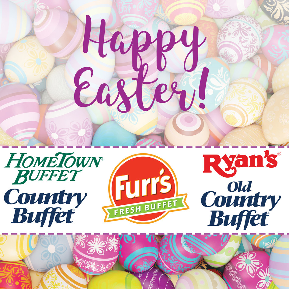 Ovation Brands and Furr's Fresh Buffet invite guests to feast on their Easter menus on April 16.