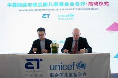 ET Energy Renews its Partnership with UNICEF