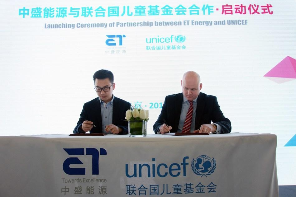 ET Energy Renews its Partnership with UNICEF