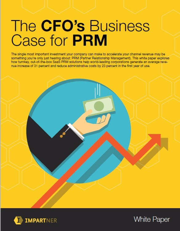 Global pure-play Partner Relationship Management leader Impartner releases new white paper for CFOs, which features results of global customer survey on the power of PRM to accelerate indirect revenue.