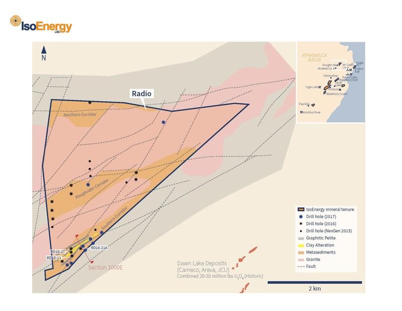 Figure 1 – Radio Planview (CNW Group/IsoEnergy Ltd.)