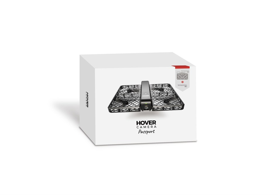Apple Exclusive Packaging for Hover Camera Passport