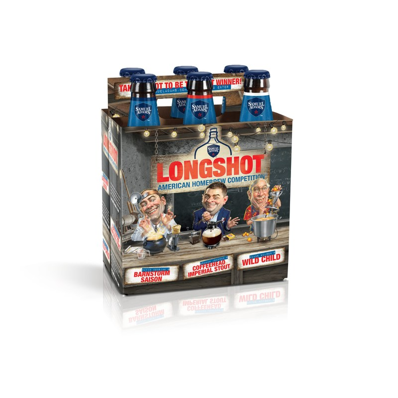 Samuel Adams LongShot American Homebrew Competition variety pack