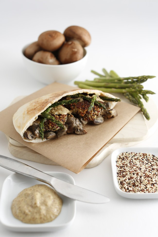 Mama Gaia offers freshly prepared dishes like pitas, quinoa bowls, salads and more. Co-founders Philipp and Cru Peri von Holtzendorff-Fehling realized a need for affordable organic, vegetarian dining after Cru was diagnosed with Lyme disease in 2010.