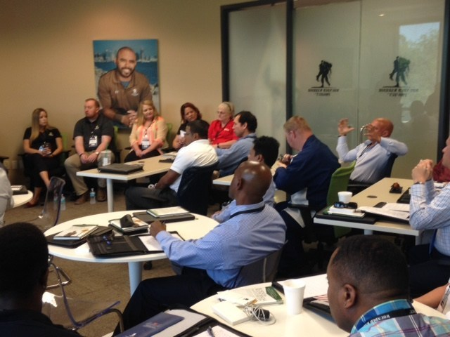 Wounded Warrior Project helped connect veterans like Stephen Pearson  with potential employers in the Tampa area at a recent event.