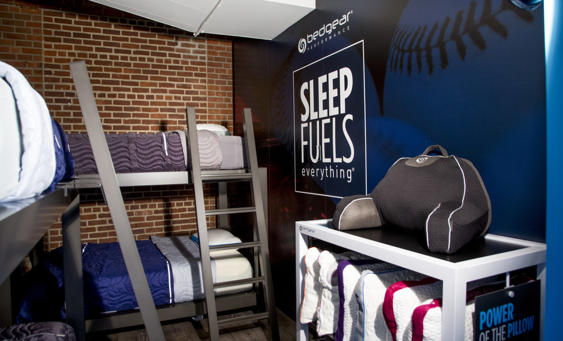 BEDGEAR Unveils Newly Designed Sleep Room At Fenway Park