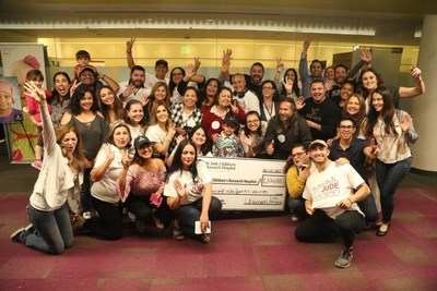 Univision Los Angeles check presentation