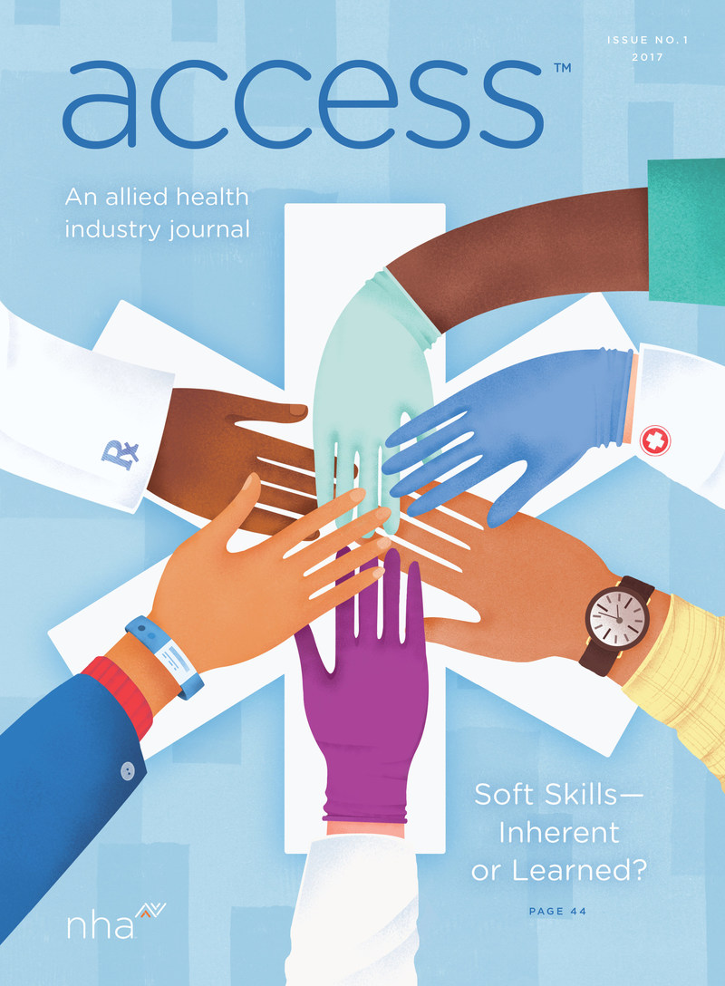 access™ is a first-of-its-kind publication created specifically to serve the allied health community.