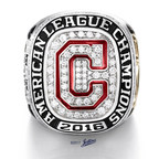 Jostens delivers Cleveland Indians American League Championship Ring